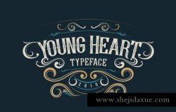 复古的装饰字体 ALITIDE Typeface
