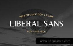 衬线字体 Liberal Hand