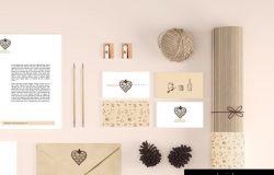 面包店VI提案贴图Stationery / Branding Mockups