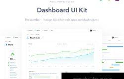 非常不错的后台管理仪表盘UI工具包 Dashboard UI Kit