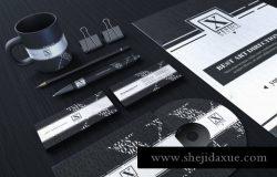 高端品牌 VI 设计展示常用文件办公用品X Design Studio