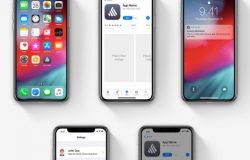 高质量苹果APP图标提案iOS样机模板素材 iOS Template Icon Mockup