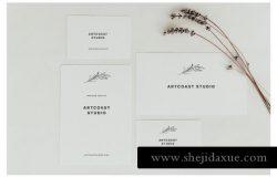 婚礼邀请函请帖名片设计Birdsong Cards