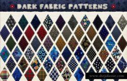 创意纺织品布料图层样式设计素材