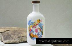 少见稀有的中国风陶瓷青花瓷瓶子包装multipurpose-porcelain