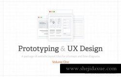 网站设计线框图&流程图展示样机s9-mockup-v-3
