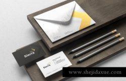 优雅时尚高端高品质的房地产VI品牌sierra-branding
