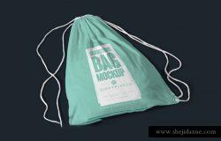 抽绳袋运动袋展示模型