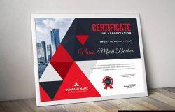 品牌销售代理/资格认证证书设计模板