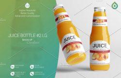 果汁瓶LG模型 Juice Bottle LG Mock-Up 2 V2,0