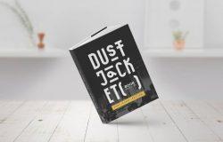 防尘套版书籍模型 Dust Jacket Edition Book Mock-Up