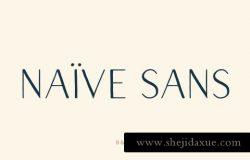 漂亮的字体 Naive Sans Font Pack