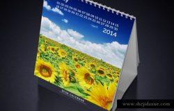 桌面台历日历样机模板 Desk Calendars Mockups