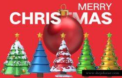 圣诞节设计元素源文件