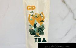 袋装食品零食塑料袋包装袋自立袋展示效果图VI智能贴图PS样机素材