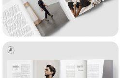 MOLINE时尚生活摄影杂志设计模板