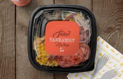 外卖包装快餐盒设计VI样机展示模型5-food-box-branding-mockups