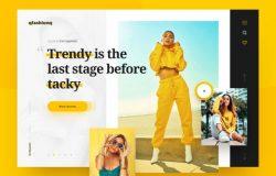 时尚APP界面设计 Fashion App Design 每日UI源文件分享