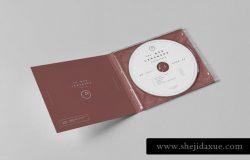 音乐CD盒子外观设计样机 CD Pack Mock-up