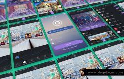 手机UI页面设计样机
