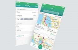 手机UI页面