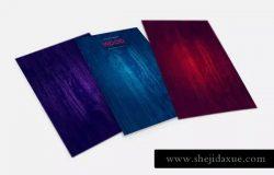 深紫木纹背景纹理素材 Wood Texture Backgrounds