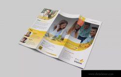 通用三折页企业宣传单设计模板 Great Ideas Trifold