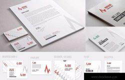企业常用办公用品设计模板