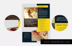 多用途企业宣传海报设计模板v2 Multipurpose Business Flyer