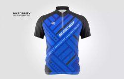 自行车运动衫设计样机