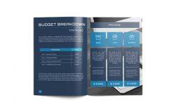 现代版式设计项目建议书/提案模板