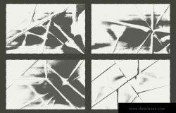 20款折叠纸张纹理矢量背景素材 Fold Paper Texture Pack Background