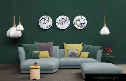 客厅装修室内设计场景样机模板 Mockup Interior Scene Creator – MK2