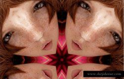 创意万花筒特效智能对象PSD模板 Kaleidoscope Templates