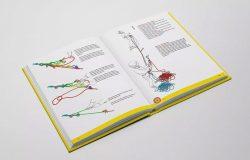精装硬封图书封面&内页排版设计样机模板