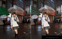 日系风格照片后期处理调色LR预设 Tokyo Mobile & Desktop Lightroom Presets