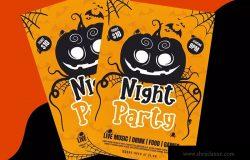 万圣节主题设计英文粗体字体 Pumkins Halloween Fun Typeface