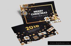 好用的矢量圣诞节和新年快乐设计模板大集合
