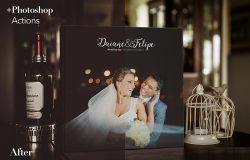 结婚纪念册展示样机
