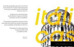巴西设计师杰作无衬线英文字体家族 Ginora Sans Font Family