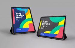 保护套支架iPad Pro平板电脑样机