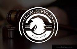 12个律师事务所和法律服务品牌Logo设计模板