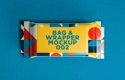 零食包装袋外观设计样机模板