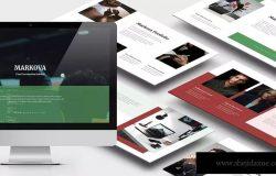 商业手册Lookbook设计风格Powerpoint模板