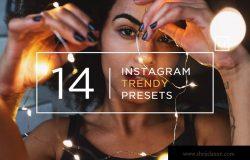 14个Instagram滤镜效果LR预设下载 14 Instagram Trendy Lightroom Presets