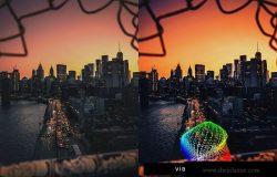 50个日出日落摄影调色滤镜LR预设