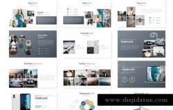 企业品牌宣传Keynote幻灯片模板 Monexa – Keynote Template