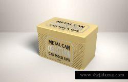 金属盒子瓶罐包装样机
