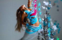 液态分解照片特效PS动作