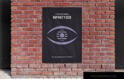 城市海报设计街道张贴效果图样机